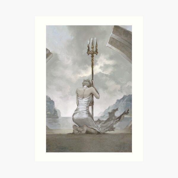 A Gift To The Sea God Kunstdruck