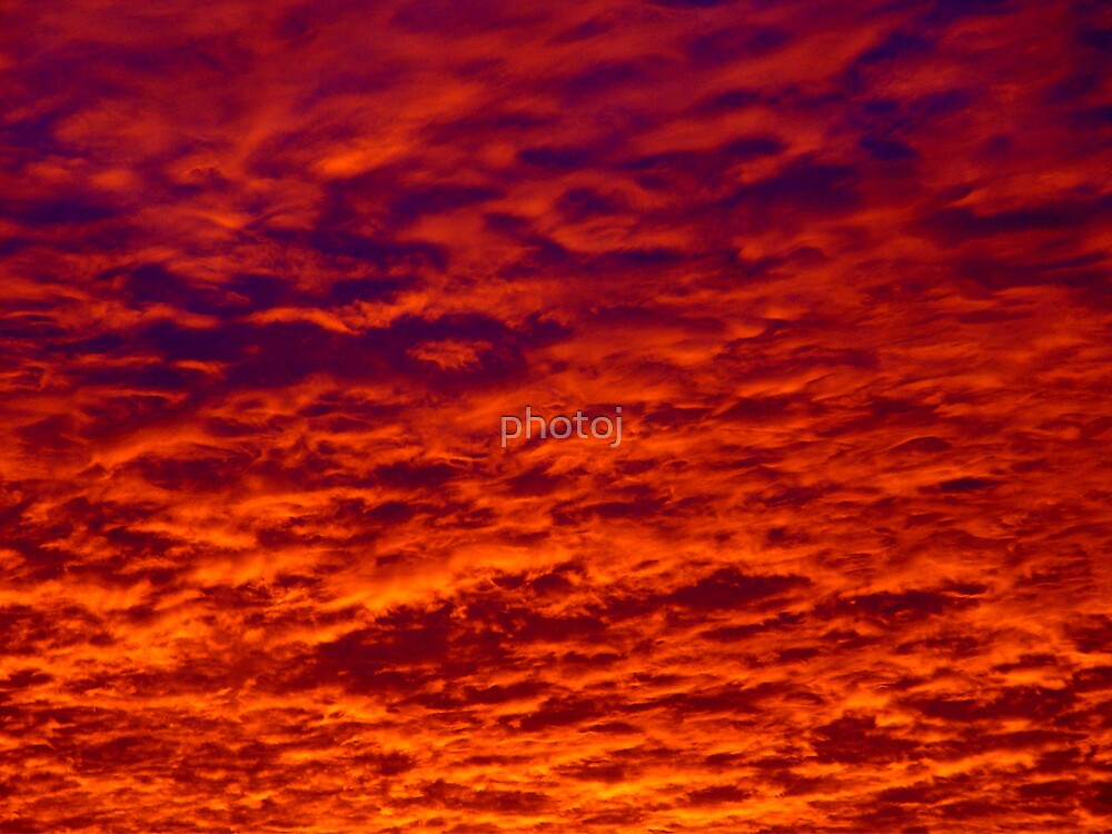 photoj, 'Sunset Sky' by photoj
