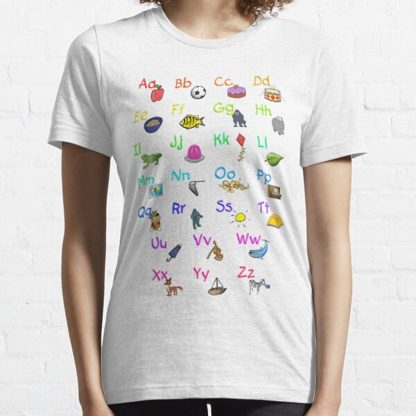 Alphabet Phonics Essential T-Shirt