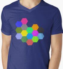 Mondrian - The Honeycomb Men's V-Neck T-Shirt