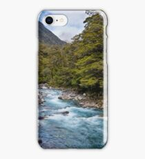 Hollyford River New Zealand iPhone Case/Skin