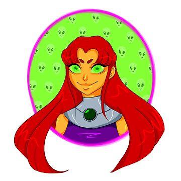 Teen Titans - Starfire by OkayDesigns