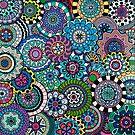 Many Mandalas by Beth Ann  Scott