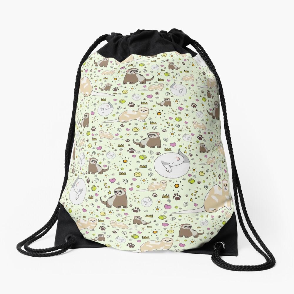 Ferret Magic Drawstring Bag