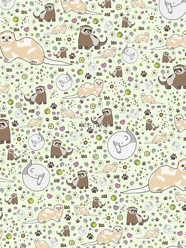 Ferret Magic by Nemki