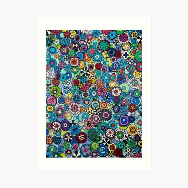 Field of Blooms Art Print