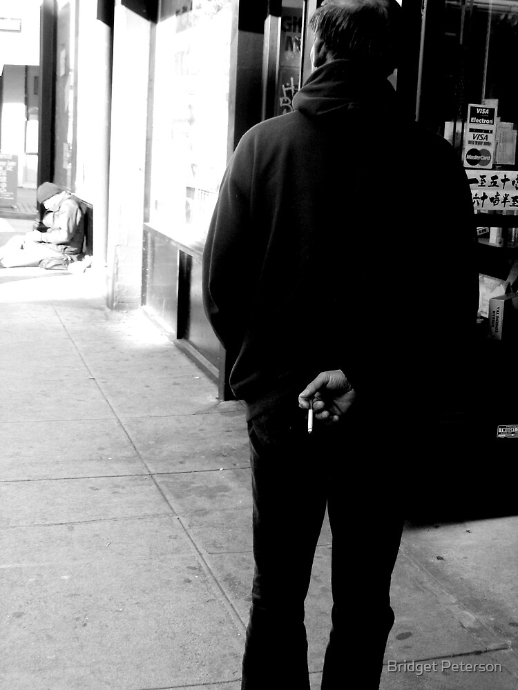 The hidden cigarette by Bridget Peterson