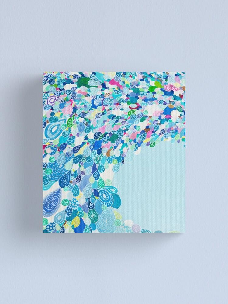 Alternate view of Blue Sea Canvas Print