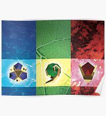 Zelda pierres ancestrales Poster