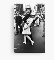 VJ Day Times Square Kiss Canvas Print