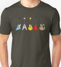 Guitars Unisex T-Shirt