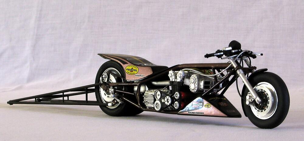 Honda Drag Bike and Seat. by EmilyWinter