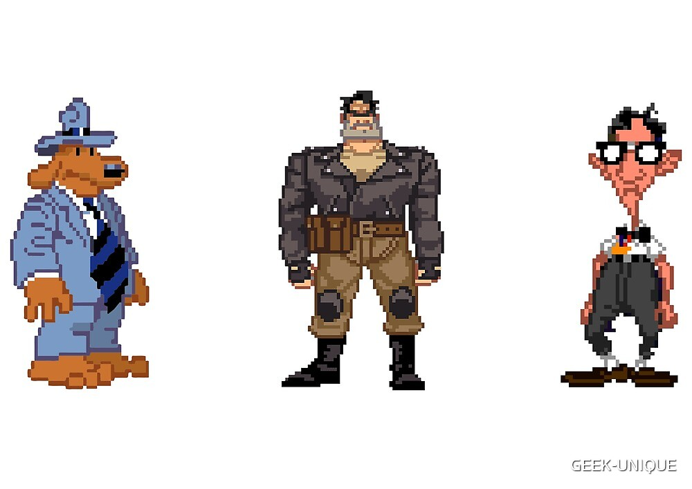 SCUMM Heroes by GEEK-UNIQUE