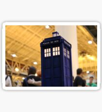 TARDIS Convention Sticker