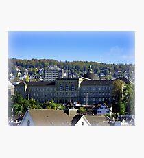 Zurich University  Photographic Print