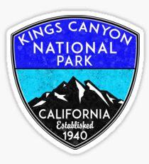 KINGS CANYON NATIONAL PARK CALIFORNIA MOUNTAINS HIKE HIKING CAMP CAMPING NATURE 2 Sticker