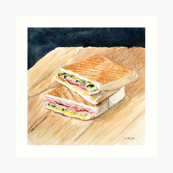 Cuban Sandwich Art Print