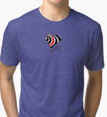 Elliott Smith Figure 8 XO Heart Tri-blend T-Shirt