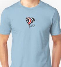 Elliott Smith Figure 8 XO Heart Unisex T-Shirt