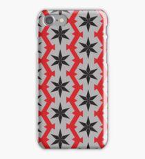 mosaic background iPhone Case/Skin