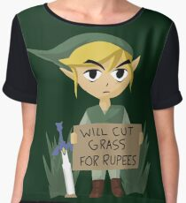 Looking For Work - Legend of Zelda Chiffon Top