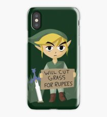 Looking For Work - Legend of Zelda iPhone Case/Skin