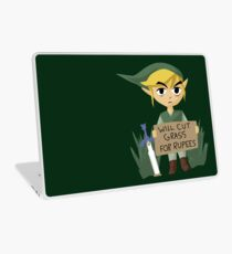 Looking For Work - Legend of Zelda Laptop Skin