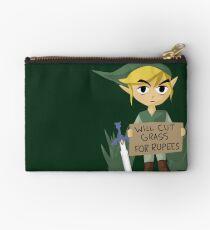 Looking For Work - Legend of Zelda Zipper Pouch