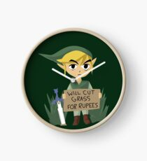 Looking For Work - Legend of Zelda Clock