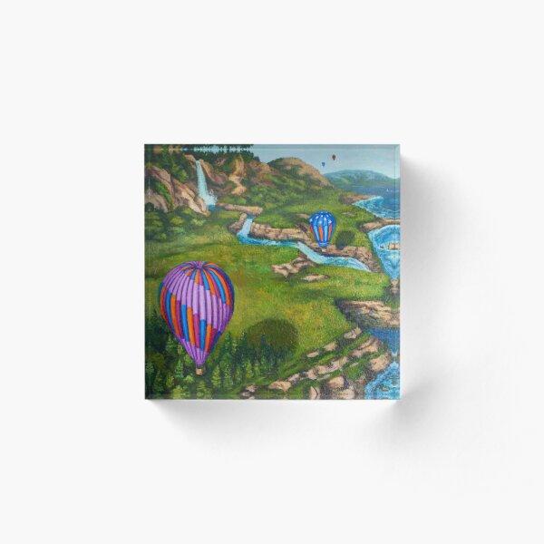 Ocean Balloons Acrylic Block
