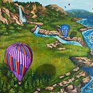 Ocean Balloons by Karen Amato
