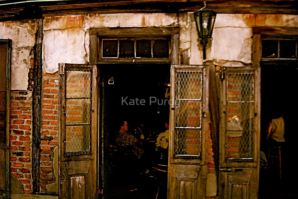Lafitte's Blacksmith Shop by Kate Purdy