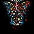 stencil wolf by frederic levy-hadida