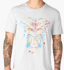 stencil wolf Men's Premium T-Shirt