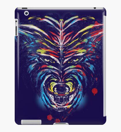 stencil wolf iPad Case/Skin