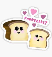 Poundcake  Sticker