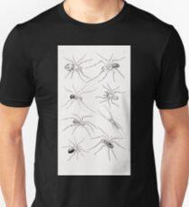 De gelede dieren Snellen Van Collenhoven Samual Constant 1868 004 Unisex T-Shirt