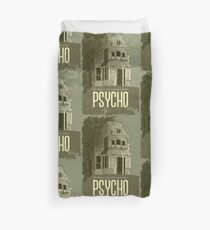 Psycho - We all go a little mad sometimes! Duvet Cover