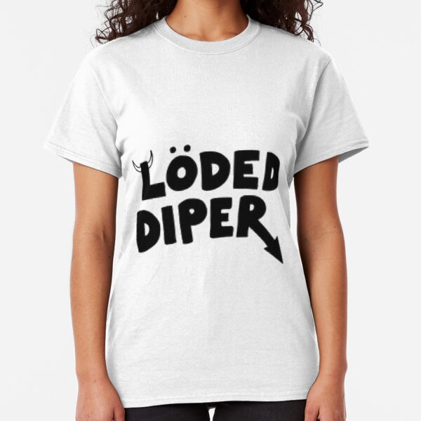 Loded Diper femme ajustée Tee T-Shirt