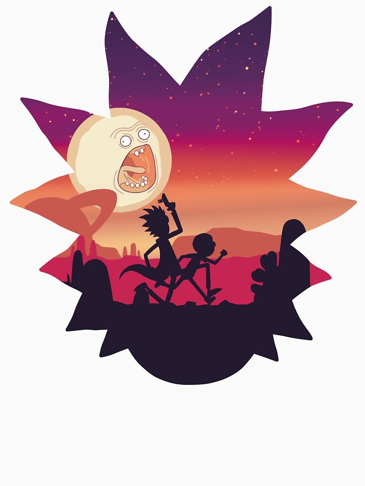 Rick & Morty Run | Unisex T-Shirt