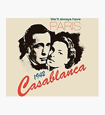 Casablanca Photographic Print