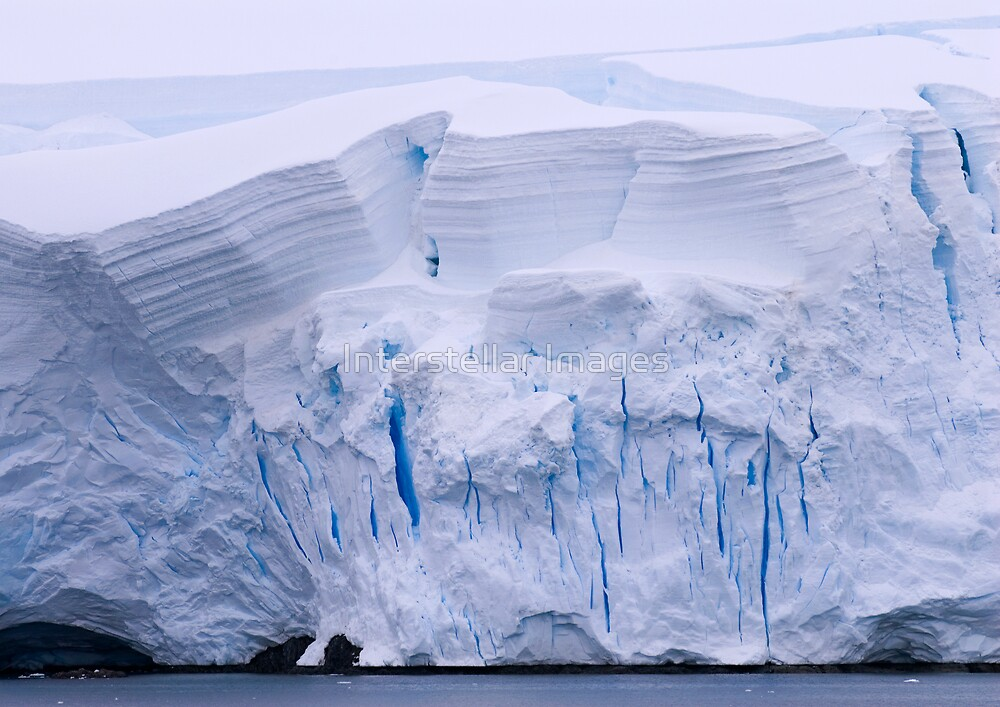 Ice Wall by Interstellar Images