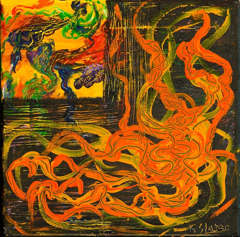Dragon's Breath by Roslyn Slater