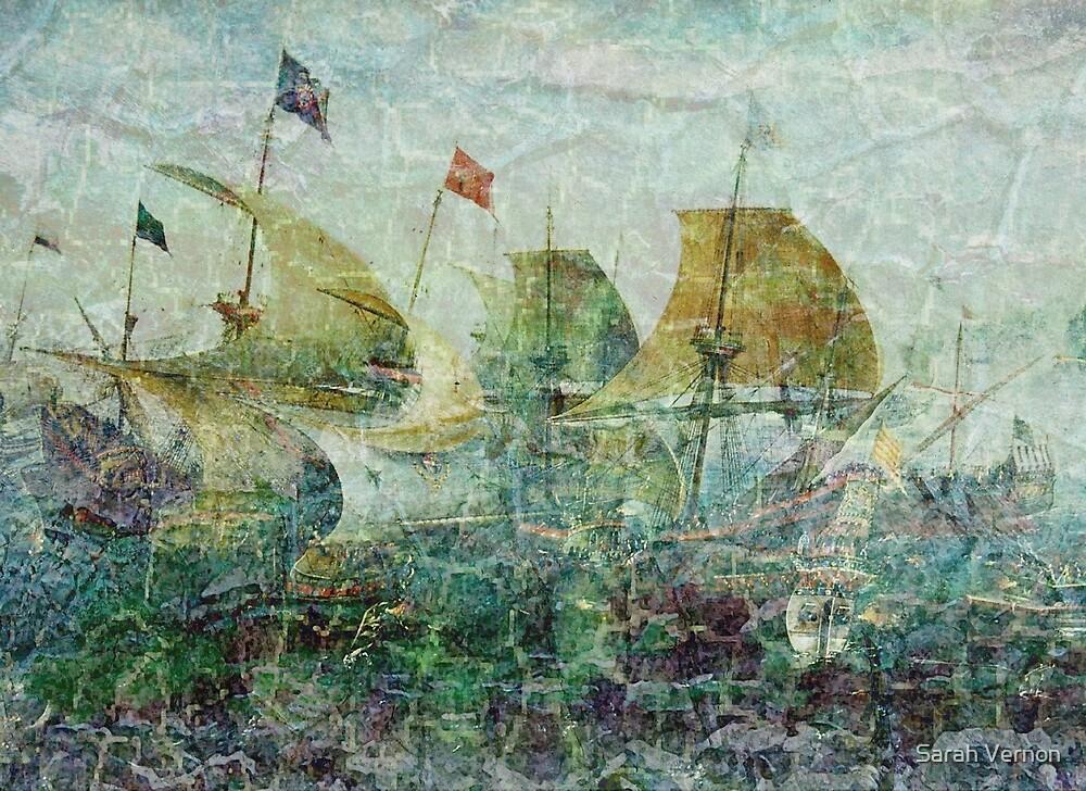 Under Full Sail II by Sarah Vernon