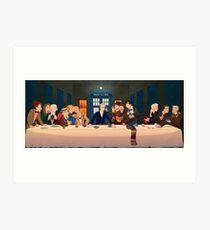 Last Tea & Biscuits - Doctor Who Art Print