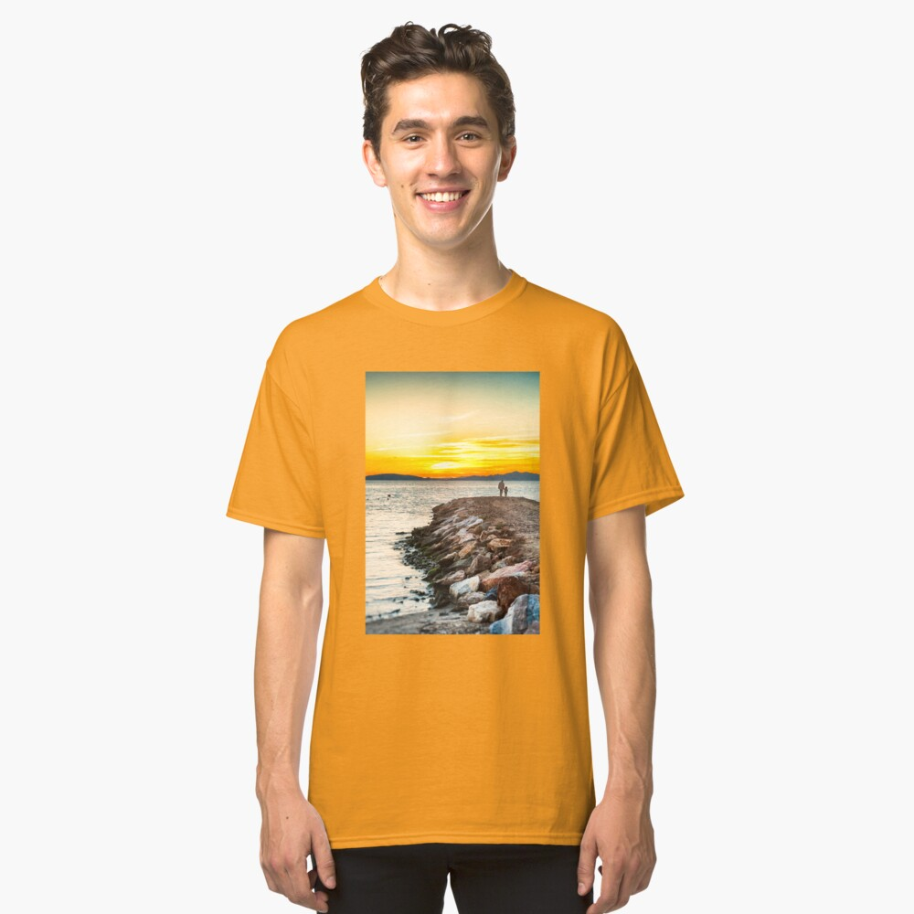 Sunset with dad Classic T-Shirt