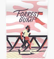 Forrest Gump - Run Forrest Run Poster