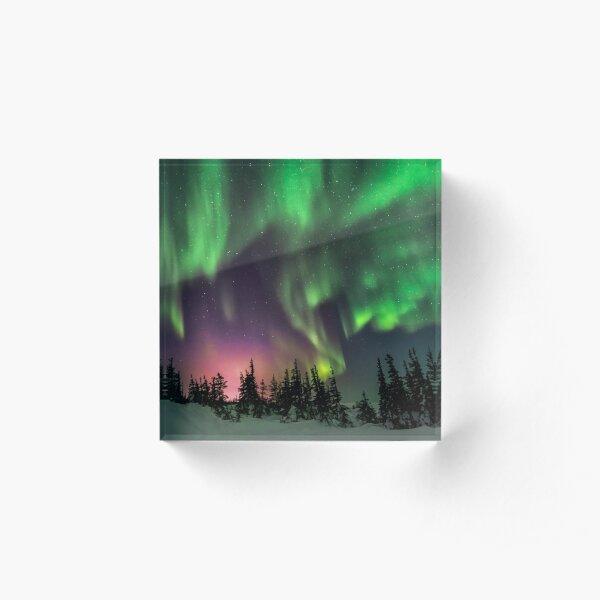 Aurora Acrylic Block