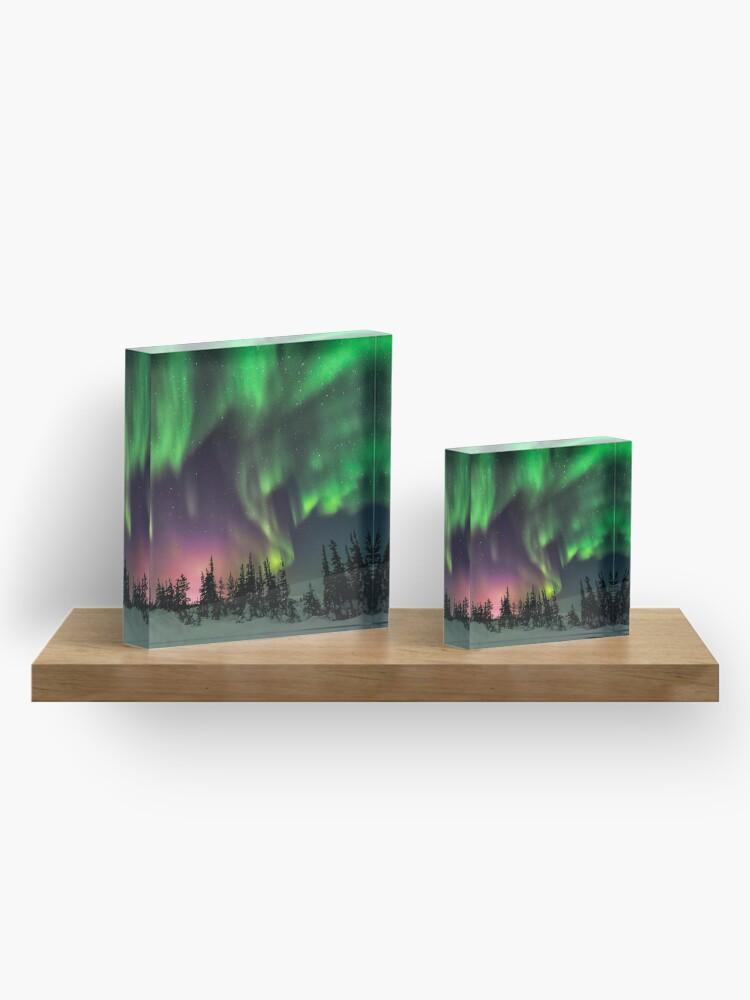 Alternate view of Aurora Acrylic Block