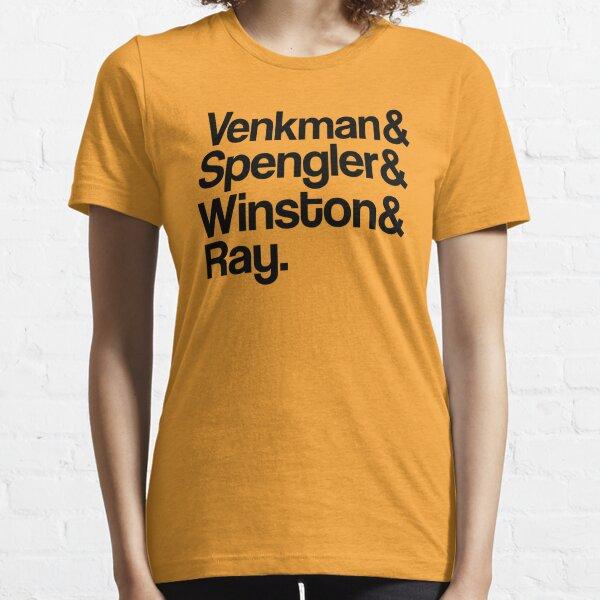 Venkman et Spengler et Winston et Ray T-shirt essentiel